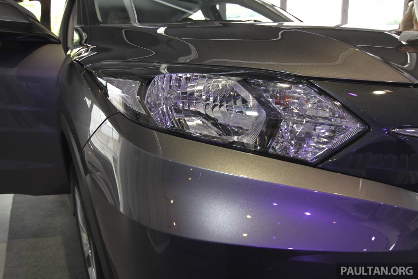 2015 Honda HR-V launched in Malaysia, from RM100k Image #309771