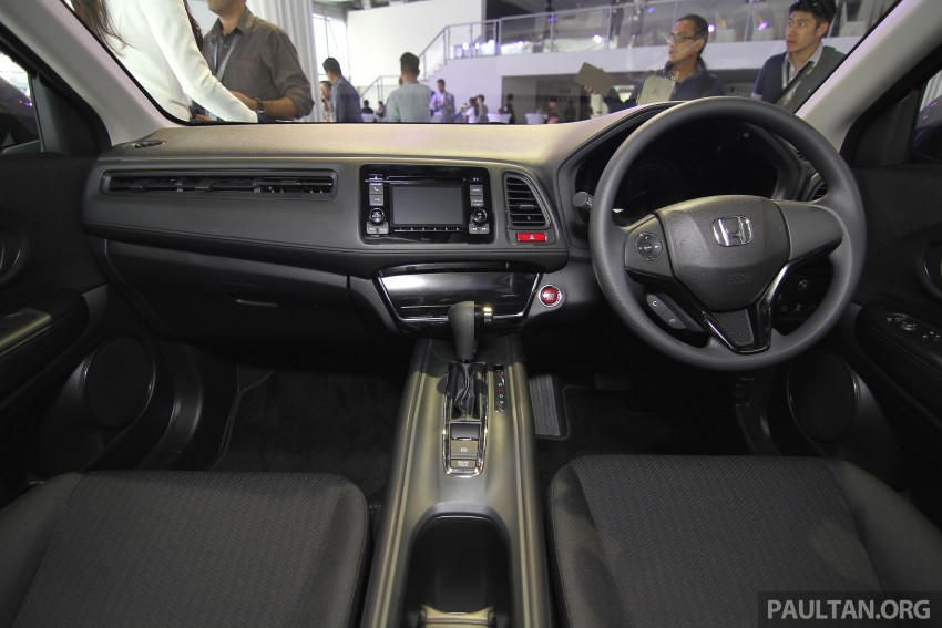 2015 Honda HR-V launched in Malaysia, from RM100k Image #309773