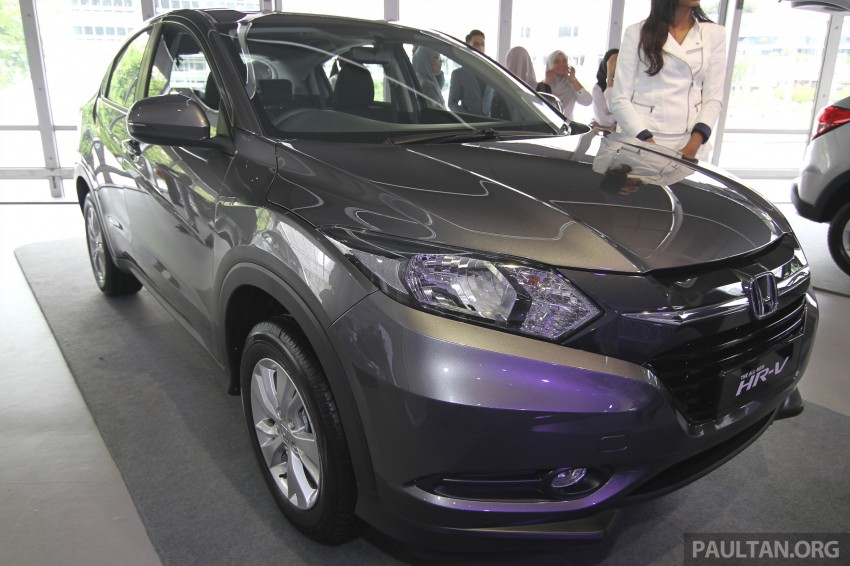 2015 Honda HR-V launched in Malaysia, from RM100k Image #309757
