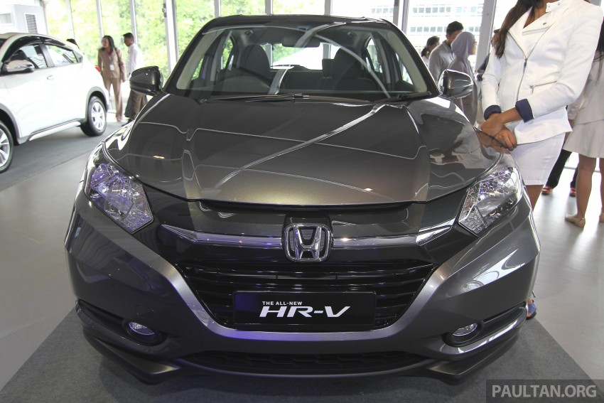 2015 Honda HR-V launched in Malaysia, from RM100k Image #309758