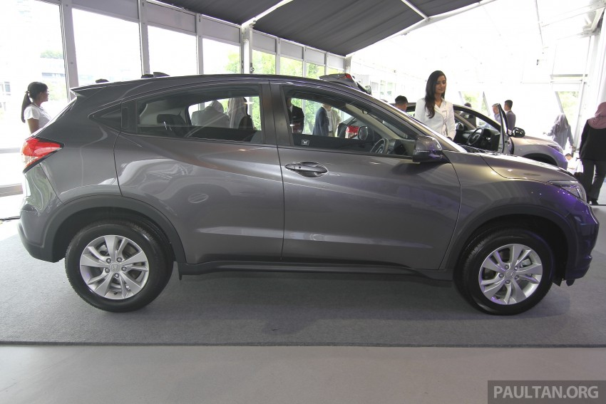 2015 Honda HR-V launched in Malaysia, from RM100k Image #309759