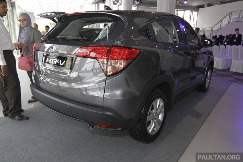 2015 Honda HR-V launched in Malaysia, from RM100k Image #309760