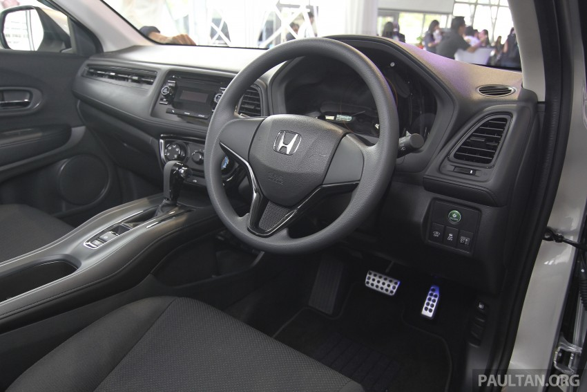 2015 Honda HR-V launched in Malaysia, from RM100k Image #309689