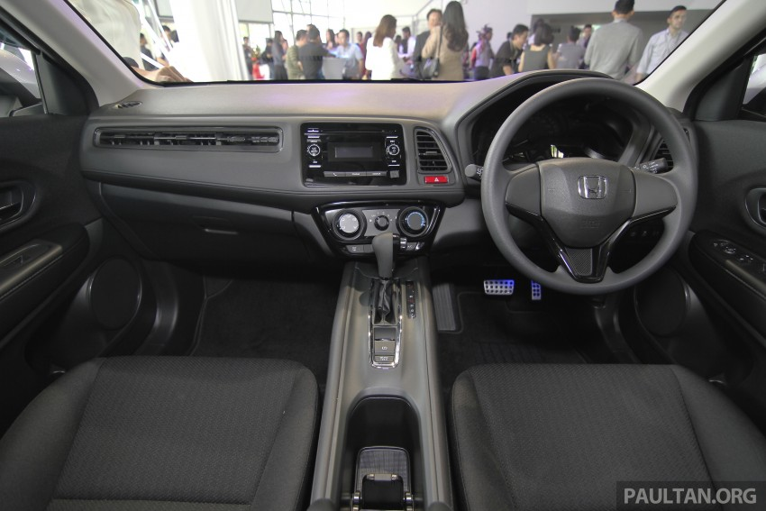 2015 Honda HR-V launched in Malaysia, from RM100k Image #309713