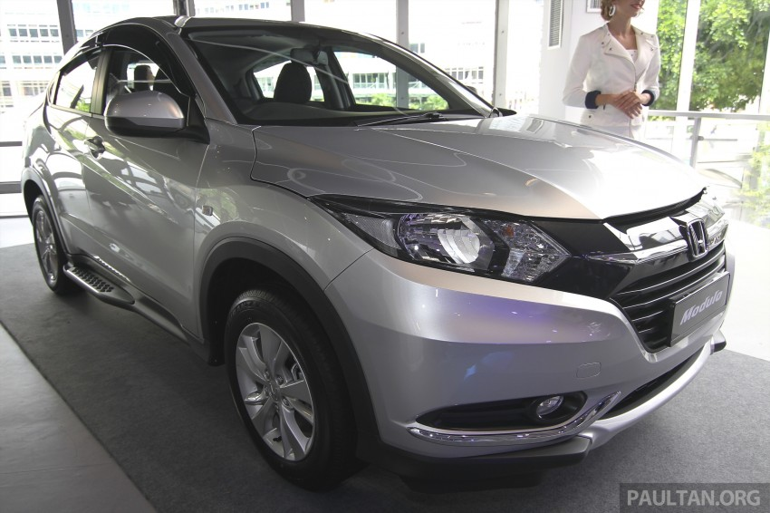 2015 Honda HR-V launched in Malaysia, from RM100k Image #309669