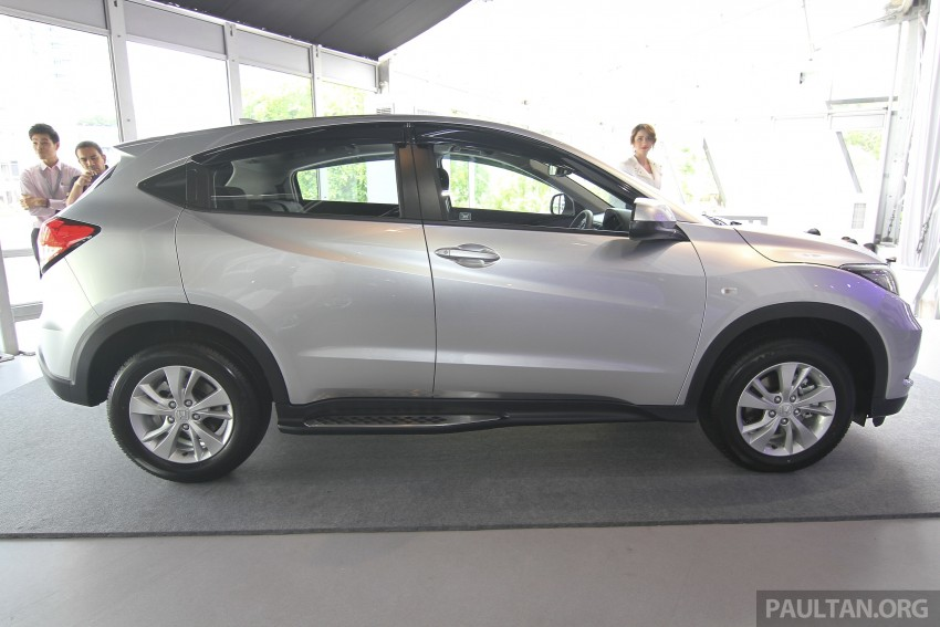 2015 Honda HR-V launched in Malaysia, from RM100k Image #309674