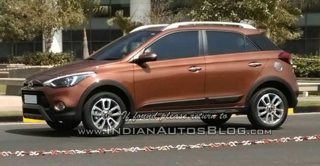 Hyundai Active Spied In India Suv Styled Elite