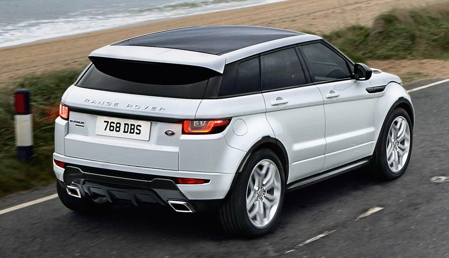 2016 Range Rover Evoque facelift gets subtle updates Image ...
