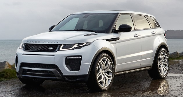 2016 Range Rover Evoque Facelift Now In M Sia Si4 Rm430k