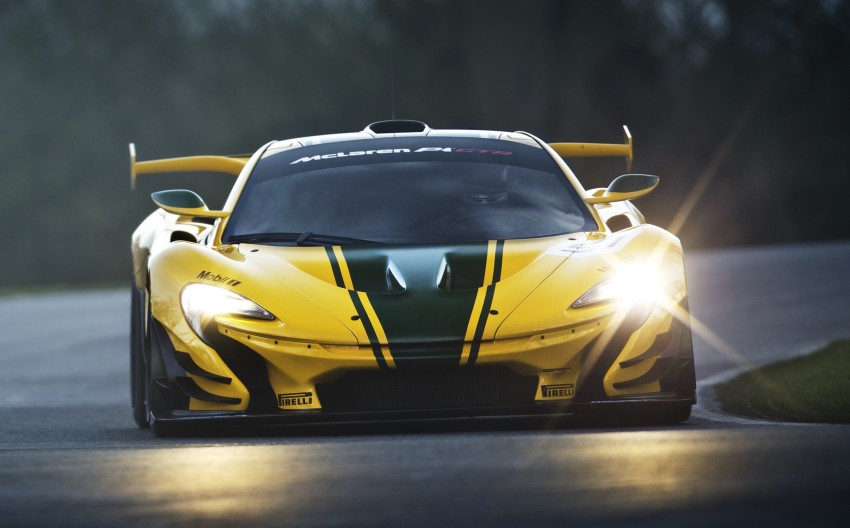 McLaren P1 GTR unveiled with 1,000 PS hybrid power Image #313533