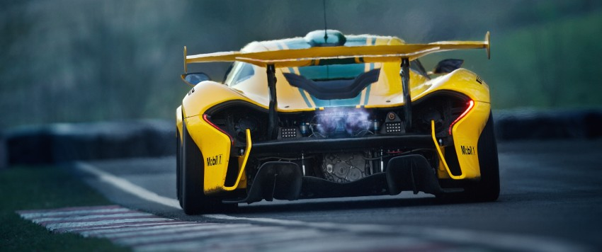 McLaren P1 GTR unveiled with 1,000 PS hybrid power Image #313534