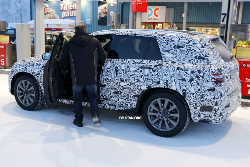 Mercedes-Benz GLC-Class SUV rendered, plug-in hybrid variant spied cold weather testing Image #314987