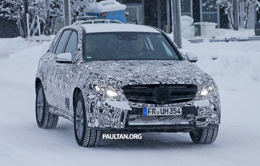 Mercedes-Benz GLC-Class SUV rendered, plug-in hybrid variant spied cold weather testing Image #312378