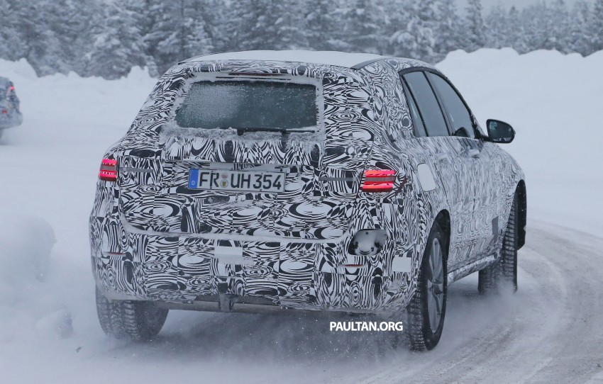 Mercedes-Benz GLC-Class SUV rendered, plug-in hybrid variant spied cold weather testing Image #312373
