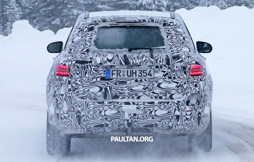 Mercedes-Benz GLC-Class SUV rendered, plug-in hybrid variant spied cold weather testing Image #312372