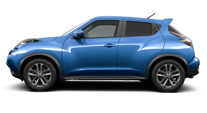 Nissan Juke facelift launched in Thailand – minor change 1.6L crossover starts from RM89k Image #314076