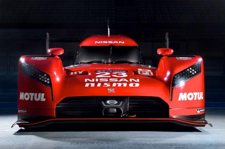 Nissan GT-R LM Nismo: front-wheel drive LMP1 hybrid Image #308510