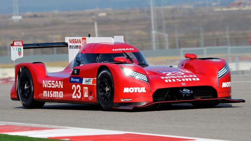 Nissan GT-R LM Nismo: front-wheel drive LMP1 hybrid Image #308518