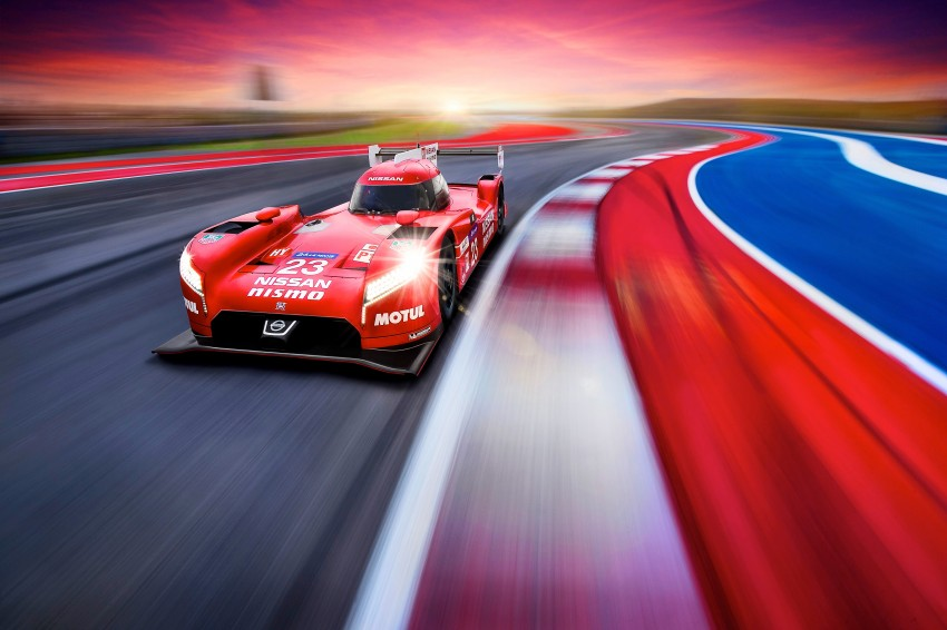 Nissan GT-R LM Nismo: front-wheel drive LMP1 hybrid Image #308520