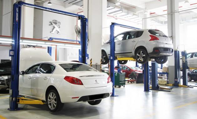 Peugeot Glenmarie service