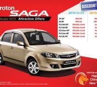 Proton Saga Discount