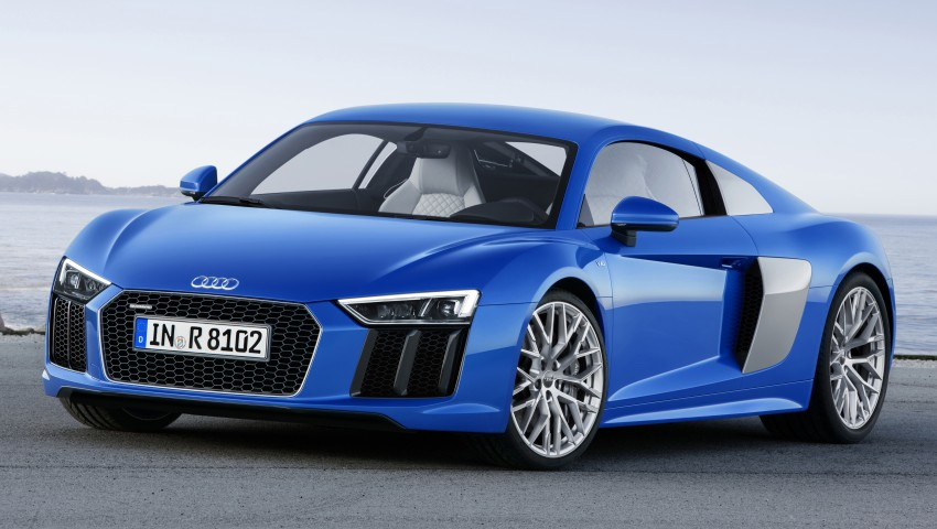 2016 Audi R8 revealed – V10 and S tronic only, 610 hp Image #314443