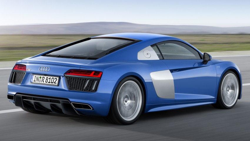 2016 Audi R8 revealed – V10 and S tronic only, 610 hp Image #314442