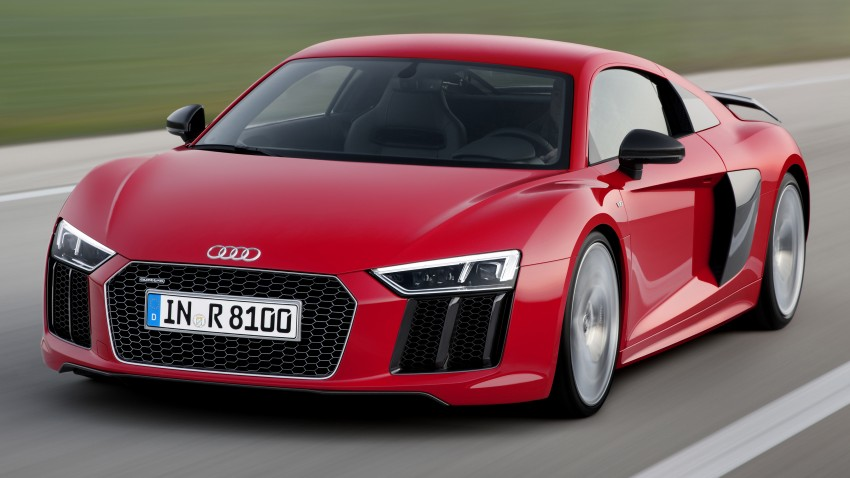 2016 Audi R8 revealed – V10 and S tronic only, 610 hp Image #314441