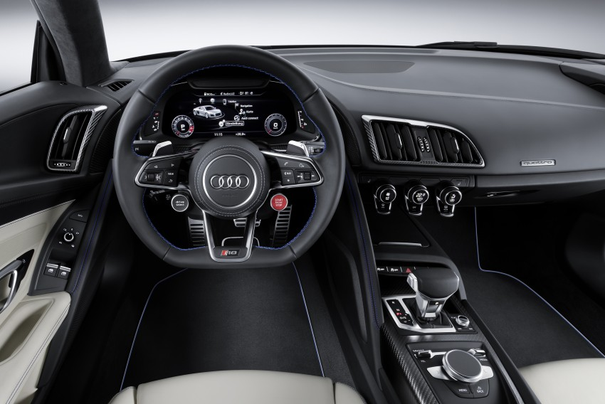 2016 Audi R8 revealed – V10 and S tronic only, 610 hp Image #314438
