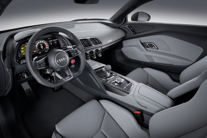 2016 Audi R8 revealed – V10 and S tronic only, 610 hp Image #314440