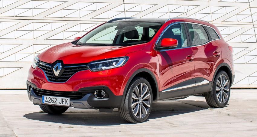 Renault Kadjar – a fresh crossover for the C-segment Image #341760