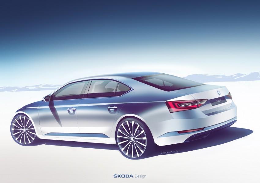 2015 Skoda Superb unveiled – bigger, better inside out Image #312589