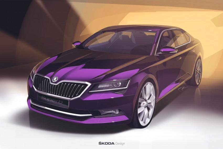 2015 Skoda Superb unveiled – bigger, better inside out Image #312591