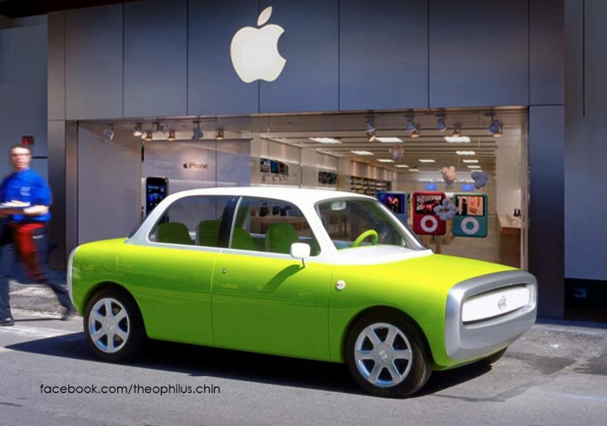 """Apple Car reportedly in the works; codenamed """"Titan"""" Image #311891"""