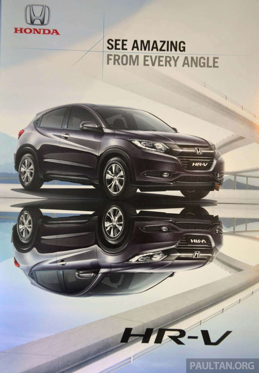 2015 Honda HR-V launched in Malaysia, from RM100k Image #309560