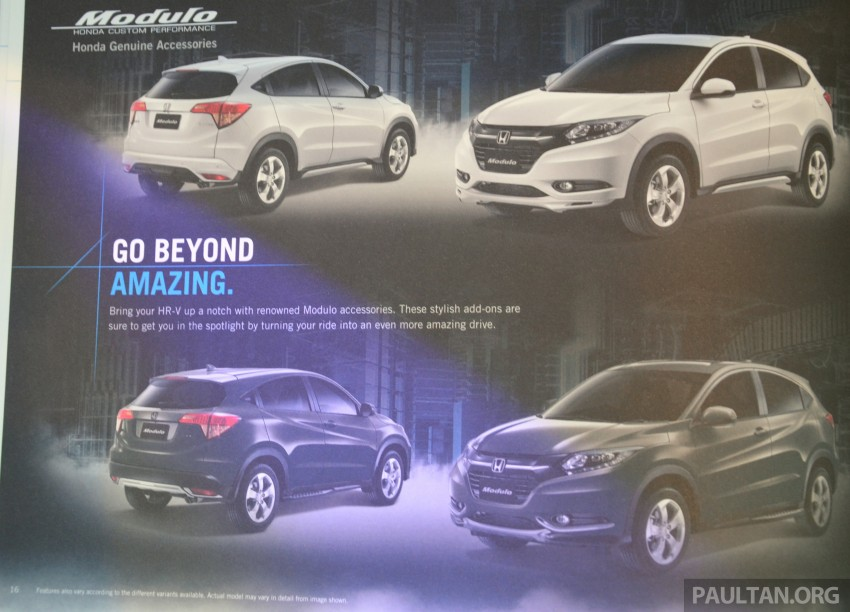 2015 Honda HR-V launched in Malaysia, from RM100k Image #309571