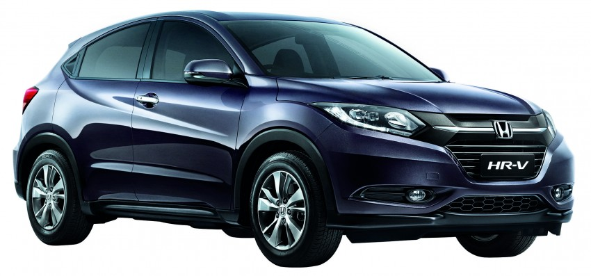 2015 Honda HR-V launched in Malaysia, from RM100k Image #309598