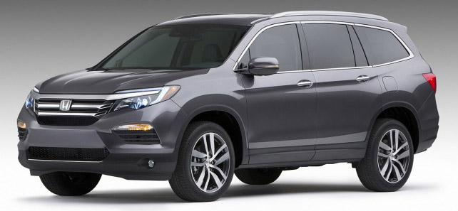 2016 Honda Pilot leaked prior to 2015 Chicago debut Image #311111