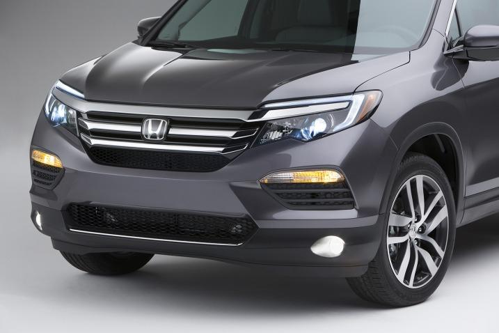 2016 Honda Pilot leaked prior to 2015 Chicago debut Image #311128