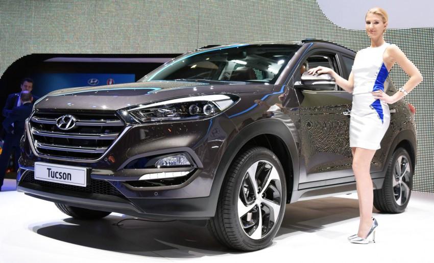 Hyundai Tucson – third-generation SUV unveiled Image #316178