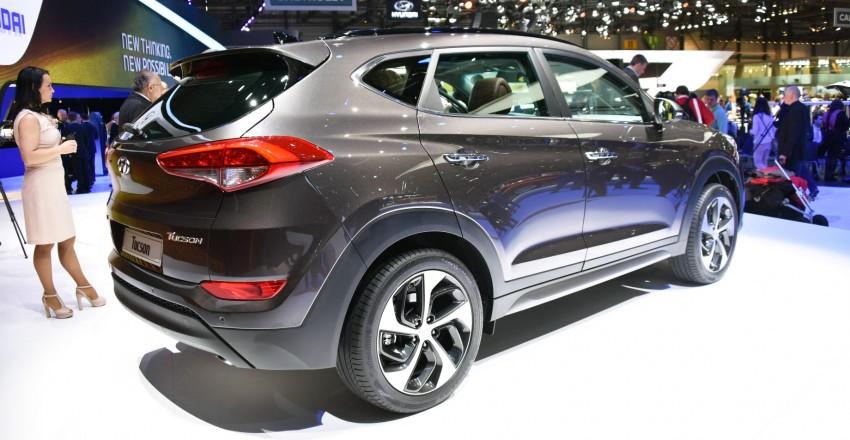 Hyundai Tucson – third-generation SUV unveiled Image #316182