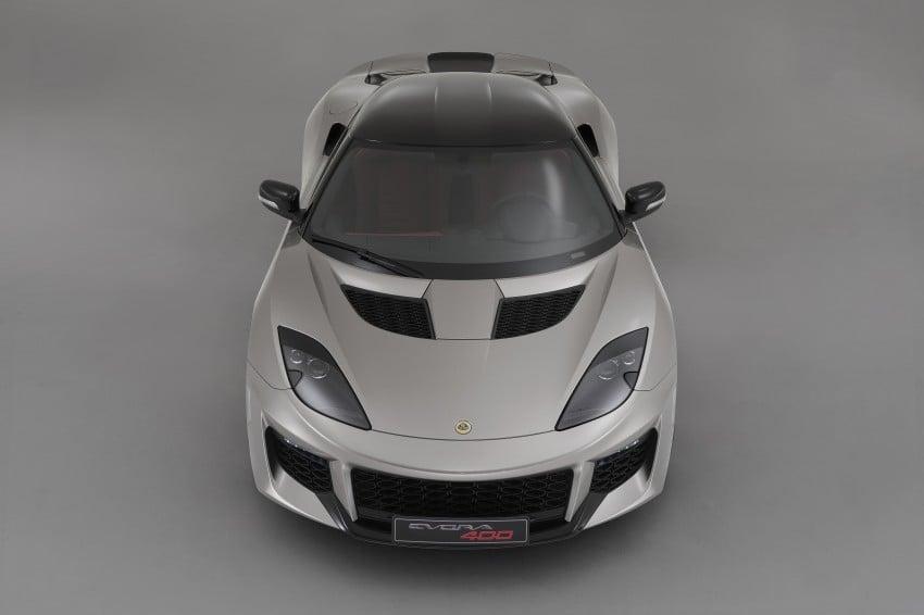 Lotus Evora 400 – fastest production Lotus revealed Image #312551