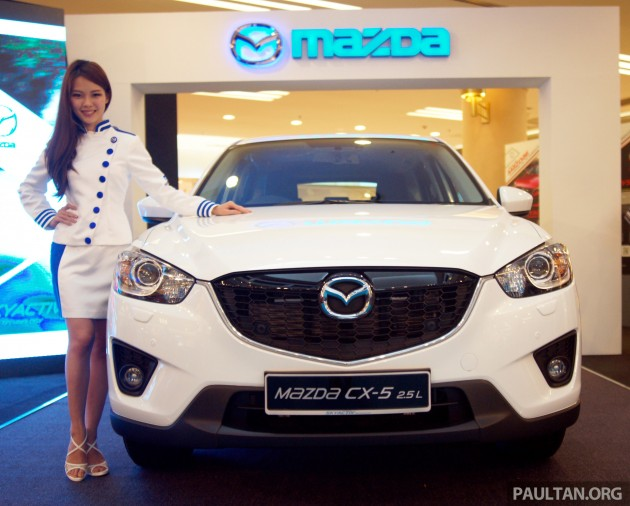Mazda CX-5 2.5 CKD, CX-5 facelift expected this year