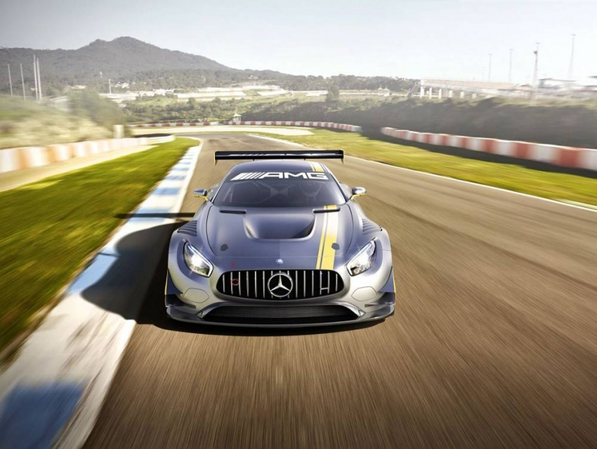 Mercedes-AMG GT3 unveiled, goes racing next year Image #314503