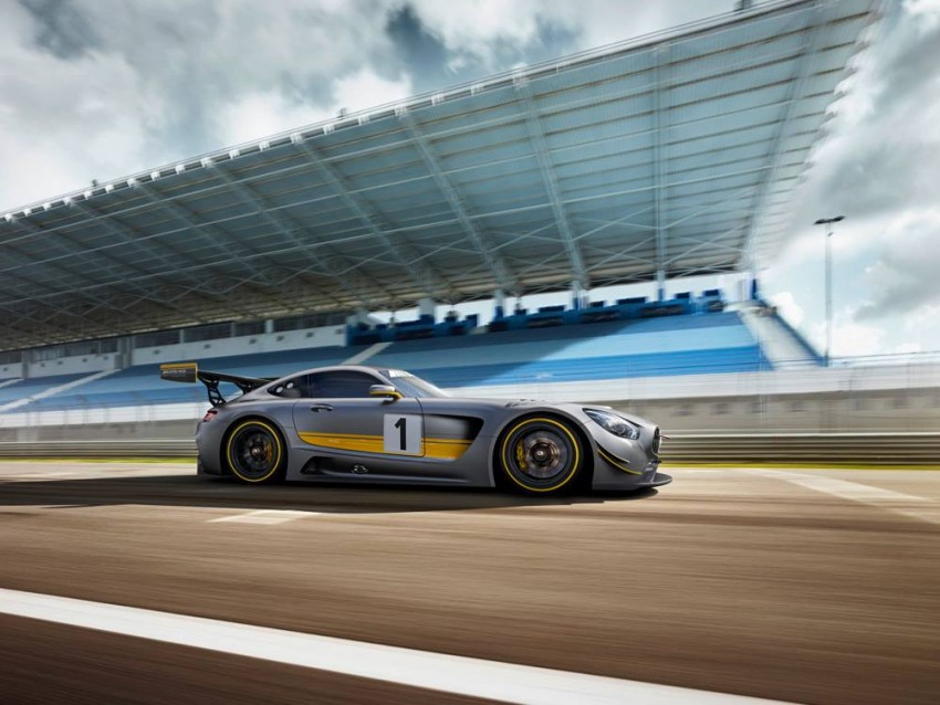 Mercedes-AMG GT3 unveiled, goes racing next year Image #314504