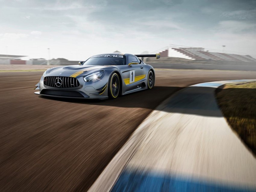 Mercedes-AMG GT3 unveiled, goes racing next year Image #314506