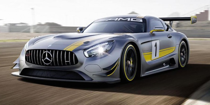 Mercedes-AMG GT3 unveiled, goes racing next year Image #314517