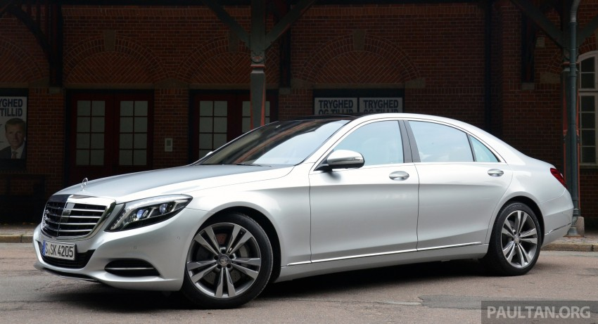 DRIVEN: W222 Mercedes-Benz S 500 Plug-in Hybrid Image #313020