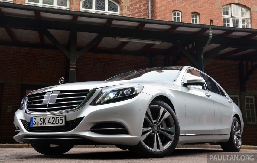 DRIVEN: W222 Mercedes-Benz S 500 Plug-in Hybrid Image #313022