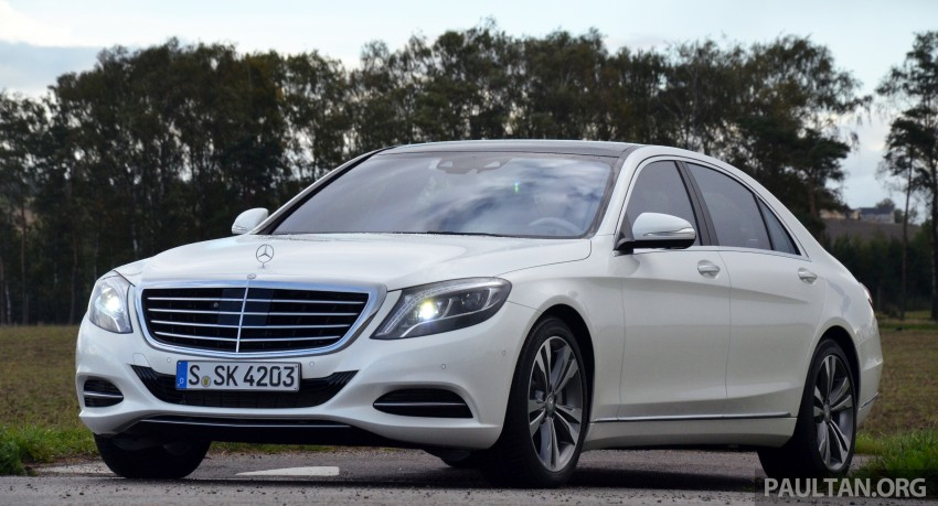 DRIVEN: W222 Mercedes-Benz S 500 Plug-in Hybrid Image #313027